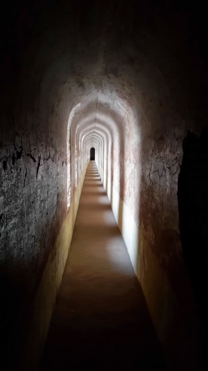 A view of one of the tunnels in the Bara Imambara, Lucknow